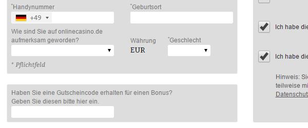 oc-gutscheincodefeld screenshot