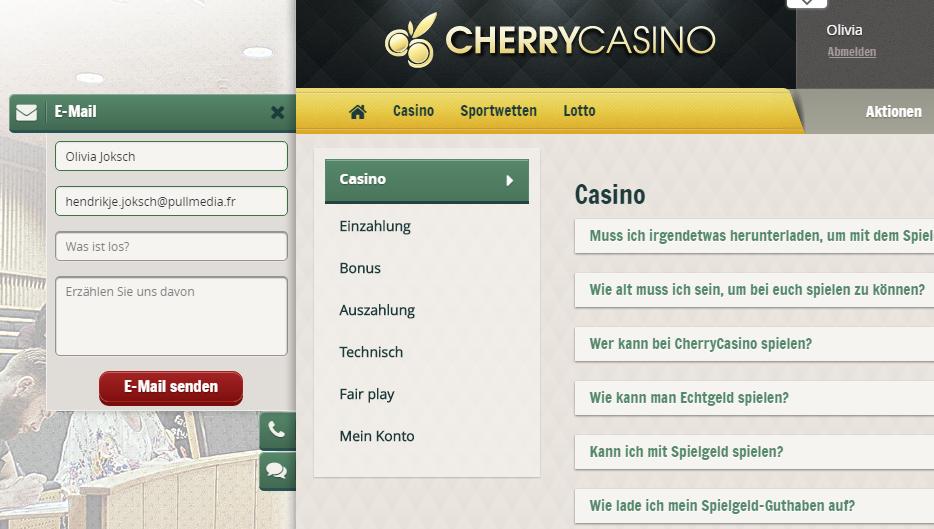 Cherry-Casino-Kundenservice