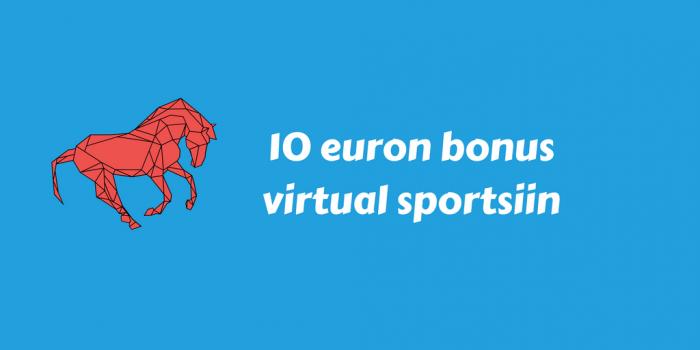 Nordicbet tervetulobonus virtual sportsiin