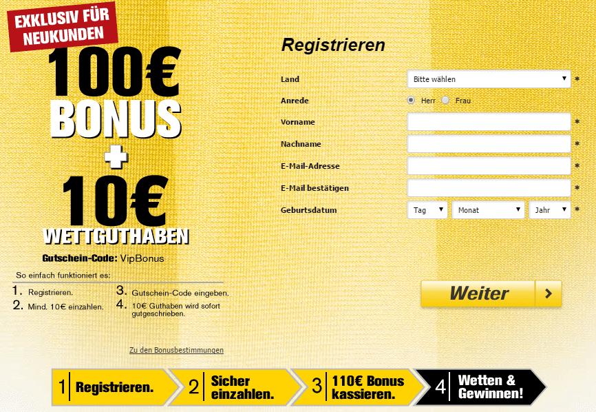 Interwetten-Bonus