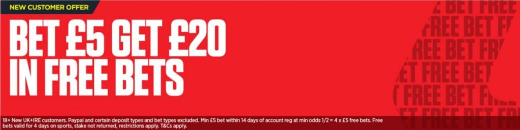 Ladbrokes Welcome Bonus Offer