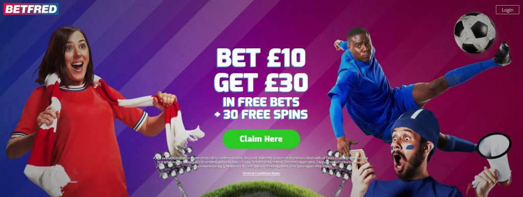Betfred sports welcome offer