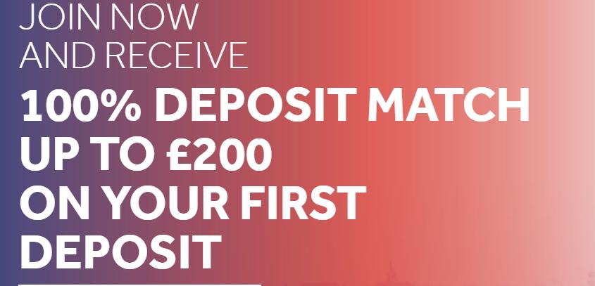 Deposit match 200£