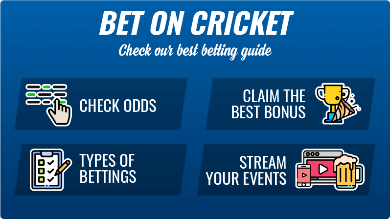 Bet on cricket guide