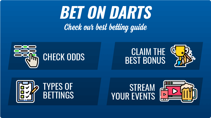 How to bet on darts guide