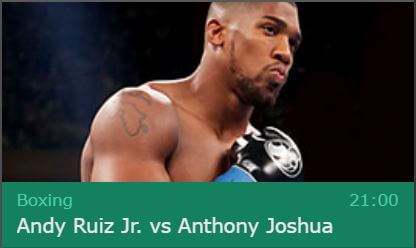 Joshua vs Ruiz 2 bet365