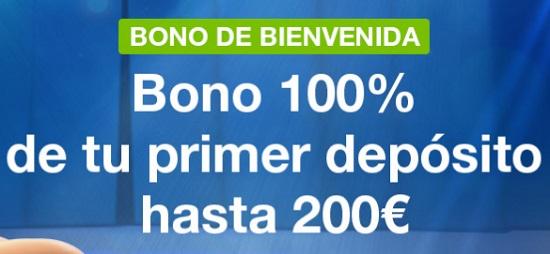 Codere Bono Bienbvenida para Casino